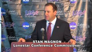 Lone Star Conference Basketball Championships Press Conference (2.23.2011)
