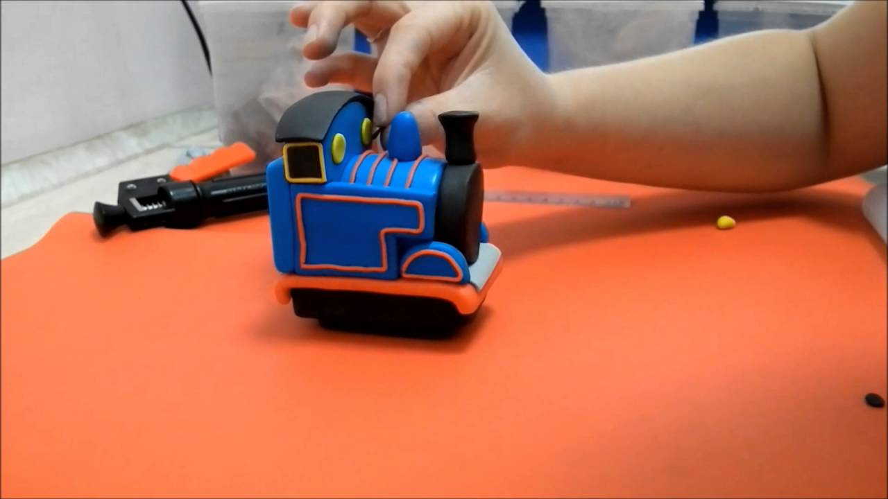 How To Make A Thomas The Tank Engine Topper Tutorial