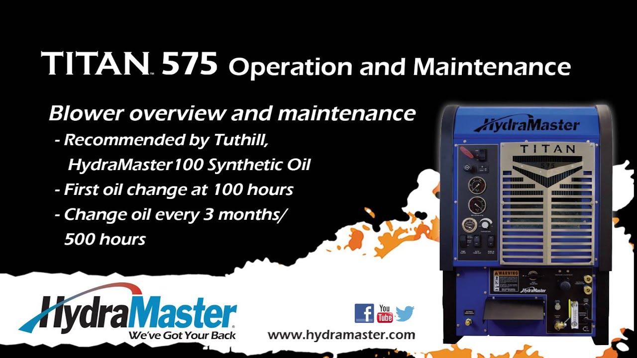 Service Videos - HydraMaster