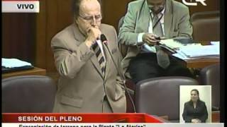 """Martín Belaúnde sobre Expropiación de terreno para la planta """"La Atarjea"""".mpg"""