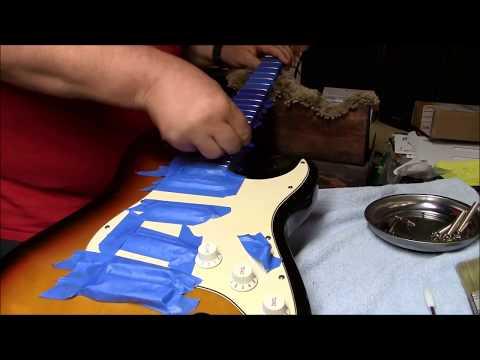Fender MIM Standard Heavy Smoker Edition Cleanup Set Up