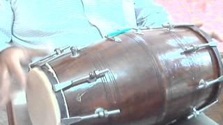 How to play dholak lesson-16- Slow Dadra