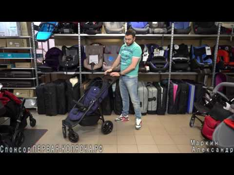 (4К) Подробный обзор Joie Litetrax 4(Джои Лайт Тракс 4) – прогулочной коляски с большим...