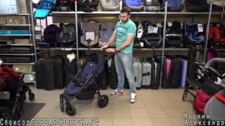 (4К) Подробный обзор Joie Litetrax 4(Джои Лайт Тракс 4) – прогулочной коляски с большим капюшоном