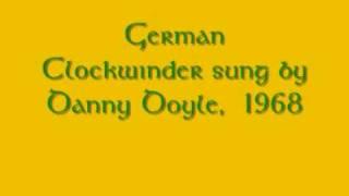 German Clock-winder Danny Doyle