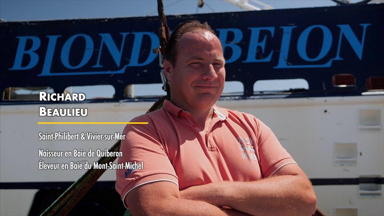 Les Gardiens de l'Huître Plate - Richard Beaulieu - Récolte en eau profonde