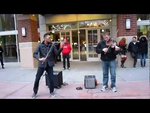 violin de la calle Andres Bryson and friend.mp4