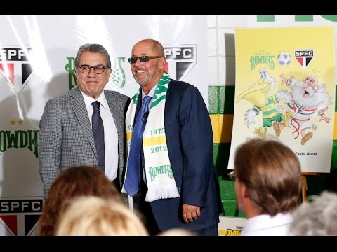 FULL PRESS CONFERENCE: Rowdies and São Paulo FC Announce International Partnership