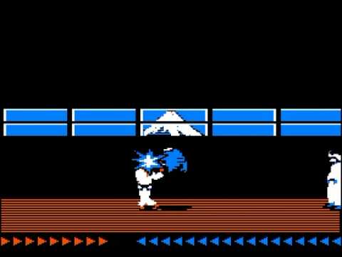 Karateka 1984 - Apple II Gameplay Footage