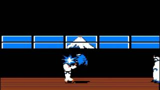 Karateka 1984 - Apple II Gameplay Footage