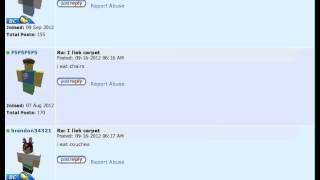 ROBLOX : Forum : Funny Posts Winner 2