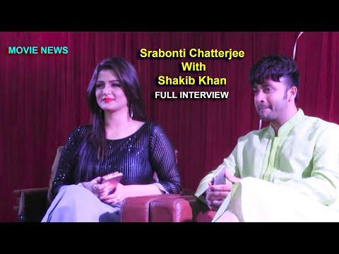 Launching for Bangla Movie Shikari !!! Srabonti Chatterjee with Shakib Khan(Full Interview)