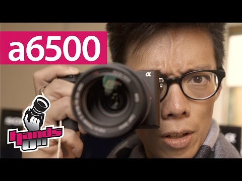 Sony a6500 RX100V Hands-on First Impression