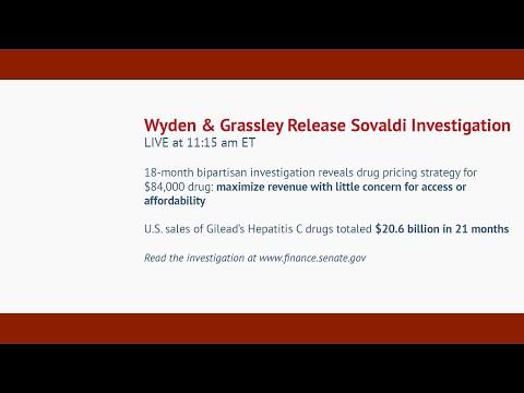 Wyden & Grassley Sovaldi Investigation Press Conference
