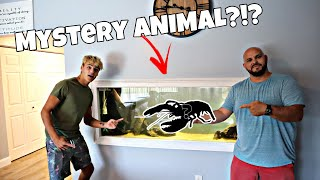 Surprising Paul Cuffaro With CREEPY Creature!!!
