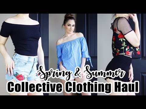 Collective Spring/Summer Try On Clothing Haul! || American Eagle, Forever 21, CupShe & More!