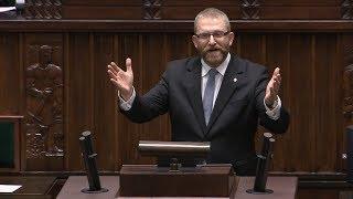 Grzegorz Braun - pierwsze przemówienie w Sejmie IX kadencji 12.11.2019