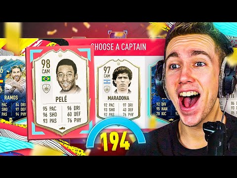 TRYING TO WIN WITH A 194 DRAFT! (FUT DRAFT)