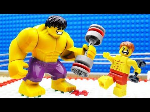 Lego Bodybuilding Wrestling Gym Fail