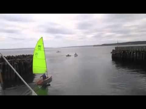 Zest dinghy first sail