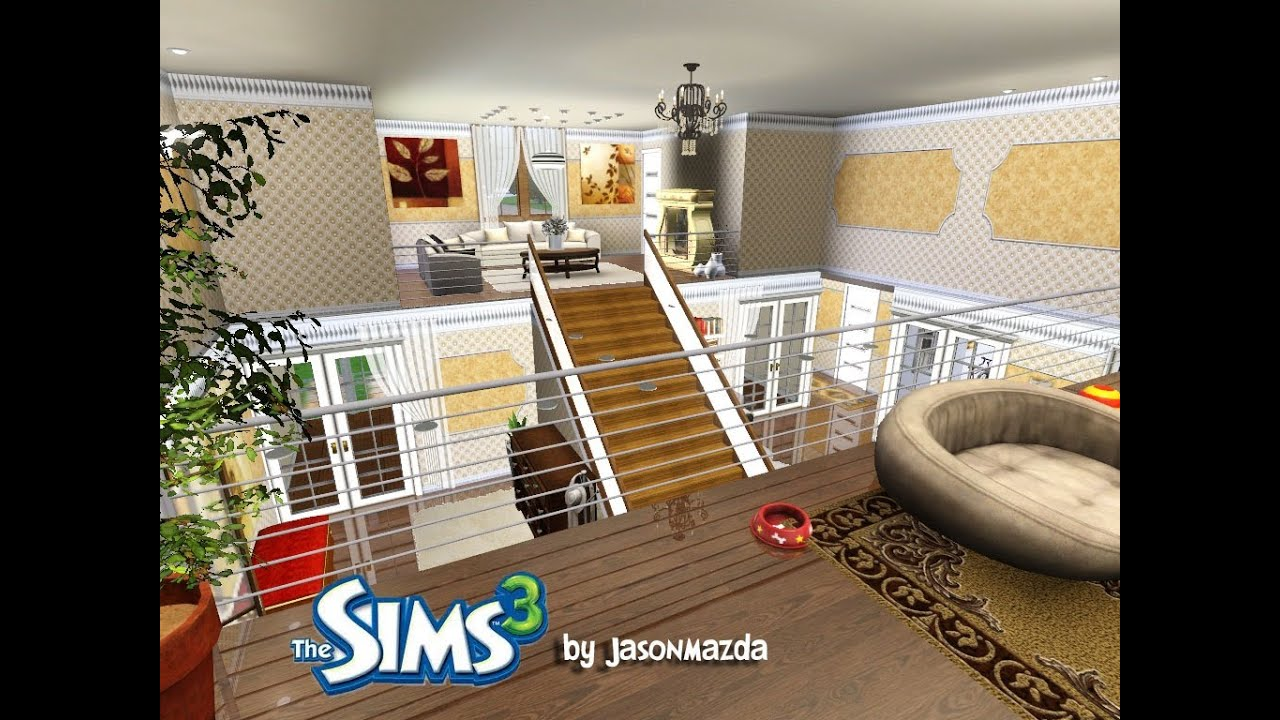 The sims 3 house designs royal elegance youtube for Best house designs for the sims 3