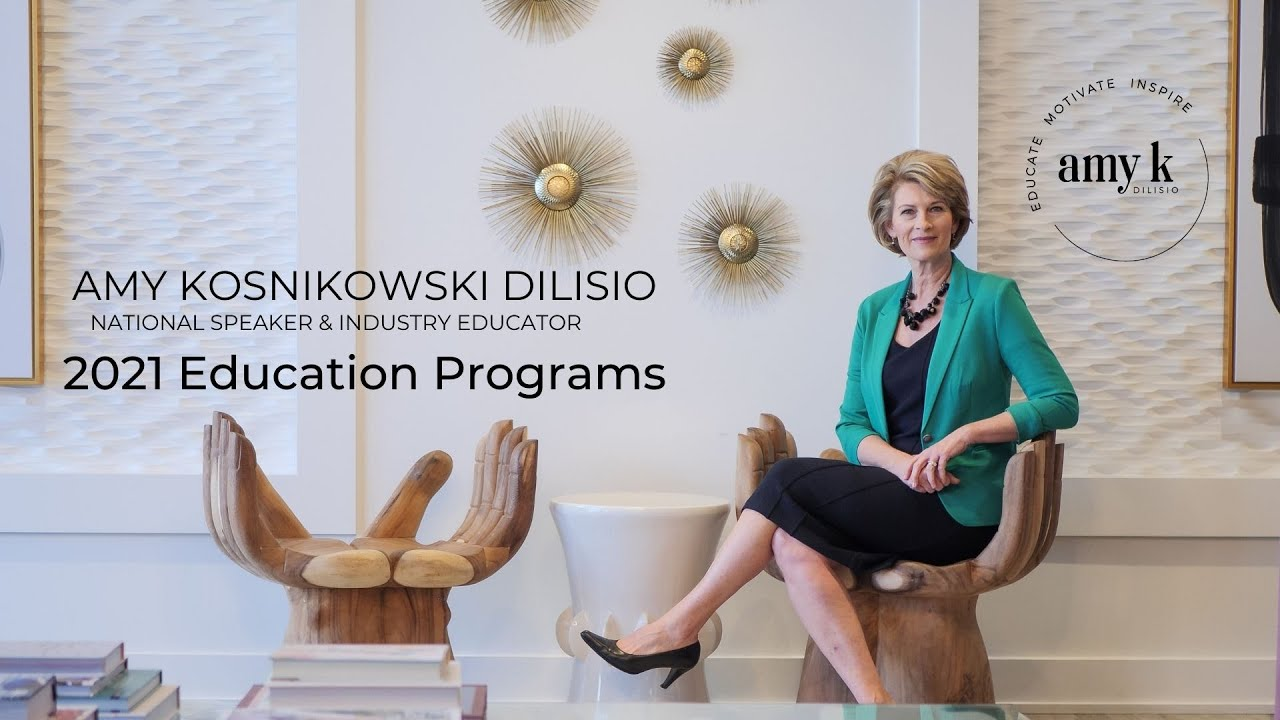 Amy's new education and keynote programs
