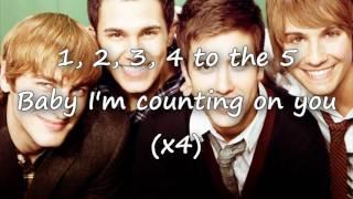 Count on you - Big Time Rush ft Jordin Sparks Lyrics