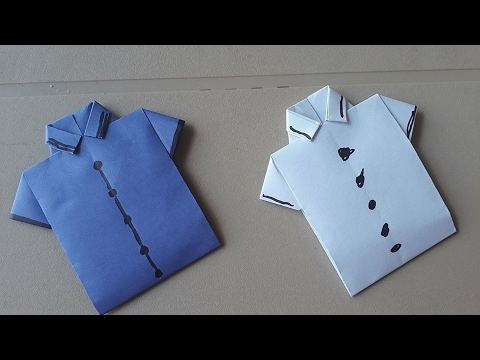 Origami Como Hacer Una Camisa De Papel How To Make A Paper Shirt