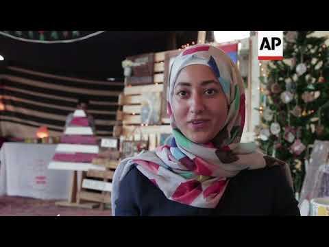 Bedouin culture meets Christmas in Amman