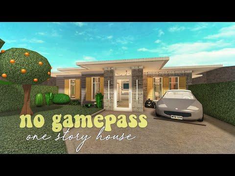 roblox-|-bloxburg:-no-gamepass-one-story-house-|-40k