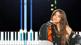 Nessa Barrett - Pąin (Piano Tutorial)