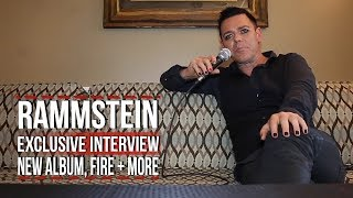 Rammstein's Richard Kruspe on New Album, Fire, Musical Orgasms + More