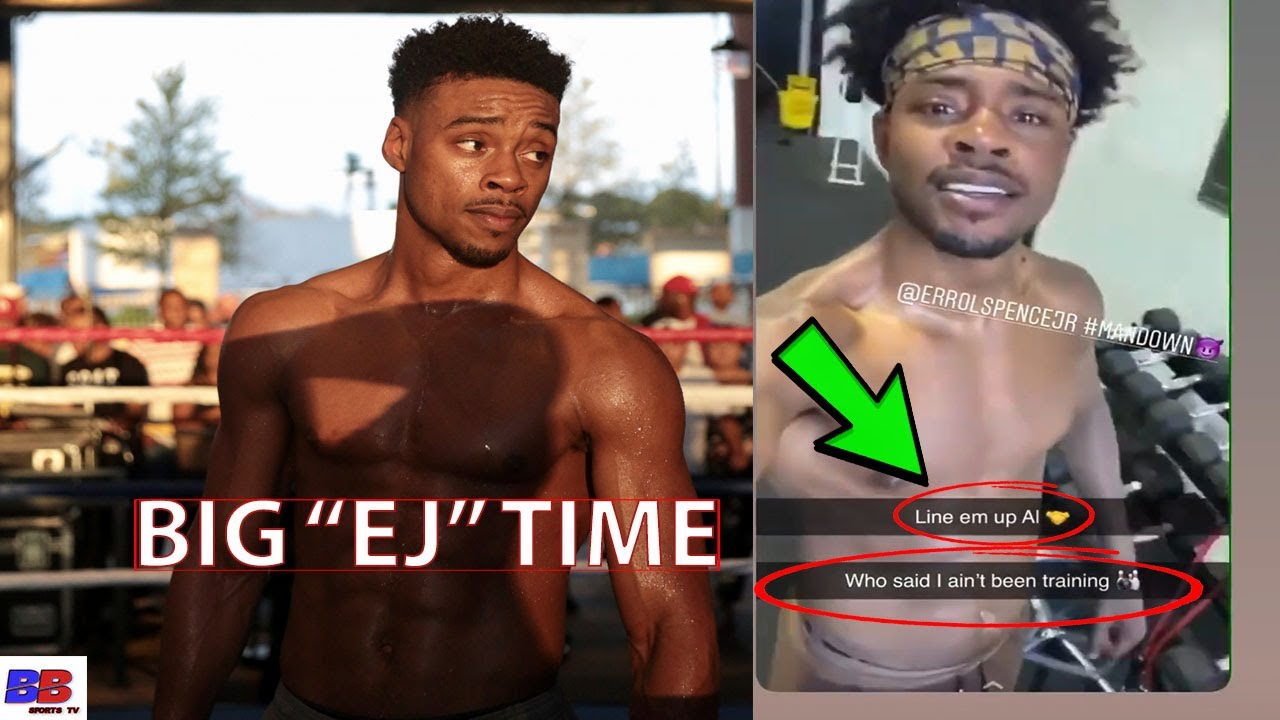 (WHOA) ERROL SPENCE SHOW OFF PHYSIQUE & PUT DANNY GARCIA & BOXING WORLD ON NOTICE, FIGHT DATE COMING