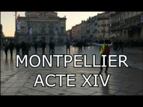 Acte 14 gilet jaune - Tension et scènes de casses à Montpellier