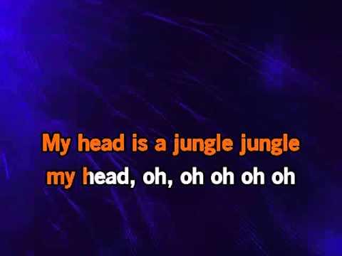 Wankelmut My Head Is A Jungle karaoke