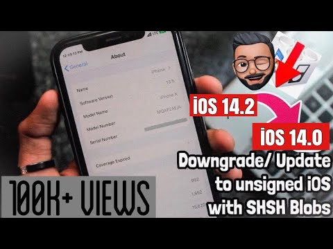 How To Downgrade/Update To Unsigned IOS Versions In 2020!