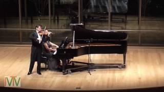 Dvorak Romantic Pieces Op. 75 For Violin And Piano Ivan Ženatý And Sandra Shapiro Live At CIM