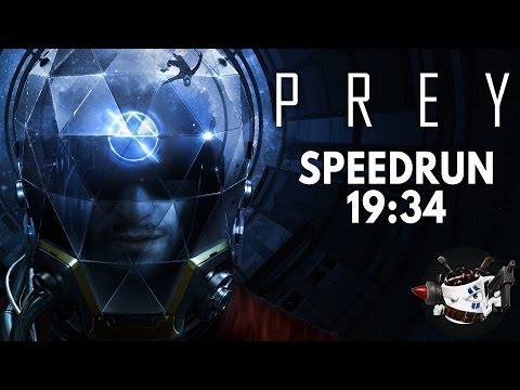 Prey (2017) Speedrun in 19:34 [World Record]