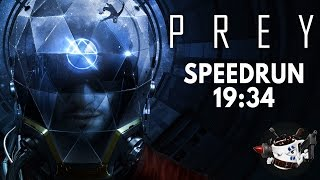 Prey (2017) Speedrun in 19:34