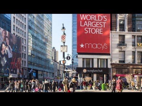 MACYS STORE TOUR : Macy's In Houston (Texas USA) | #macys #handbags #designerhandbags