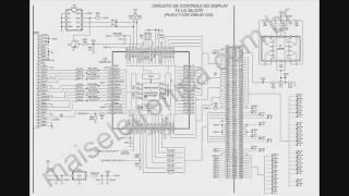 TV LCD 48   Leitura de esquema   Placa T con   1