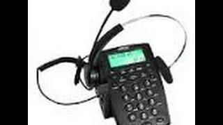AGPTEK HA0021 Call Center Phone Review