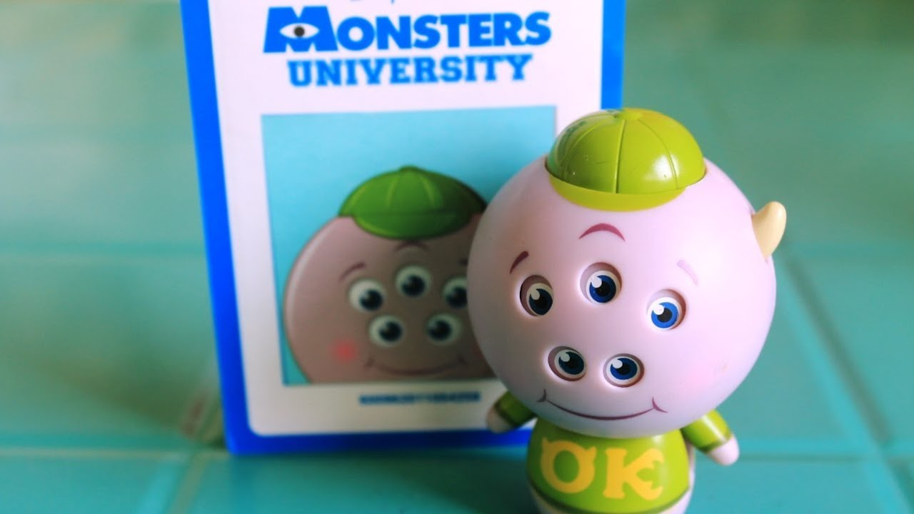 Squishy Inc Pim : Monsters University Squishy Roll A Scare Disney Pixar Monsters Inc Toys - YouTube