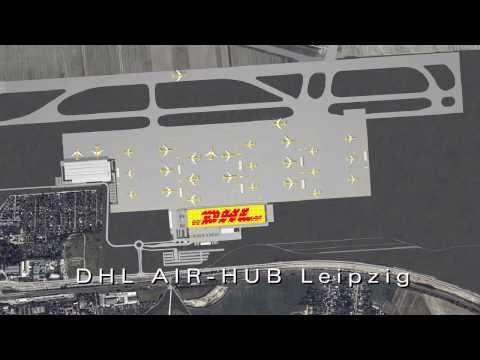 3D Animation DHL Airhub HUB Leipzig by archlab /  www.archlab.de
