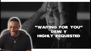 """Demi Lovato- """"waiting for you"""" highly requested reaction"""