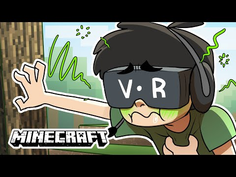 Minecraft VR But It Just Makes Me Sick...