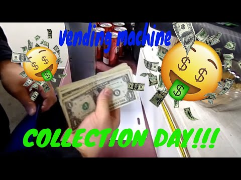 COLLECTION DAY!!! 2019   1 LOCATION 1 MACHINE   January vending machine collection