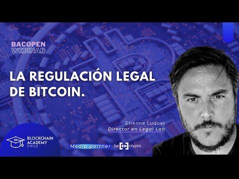 #bacOpenWebinar: La regulación legal de Bitcoin, con Etienne Luquet de Legal Lab