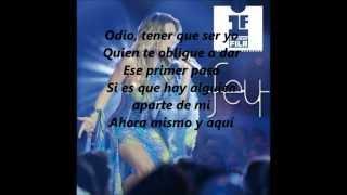 Fey Azucar amargo Primera Fila 2012 (En vivo) LETRA