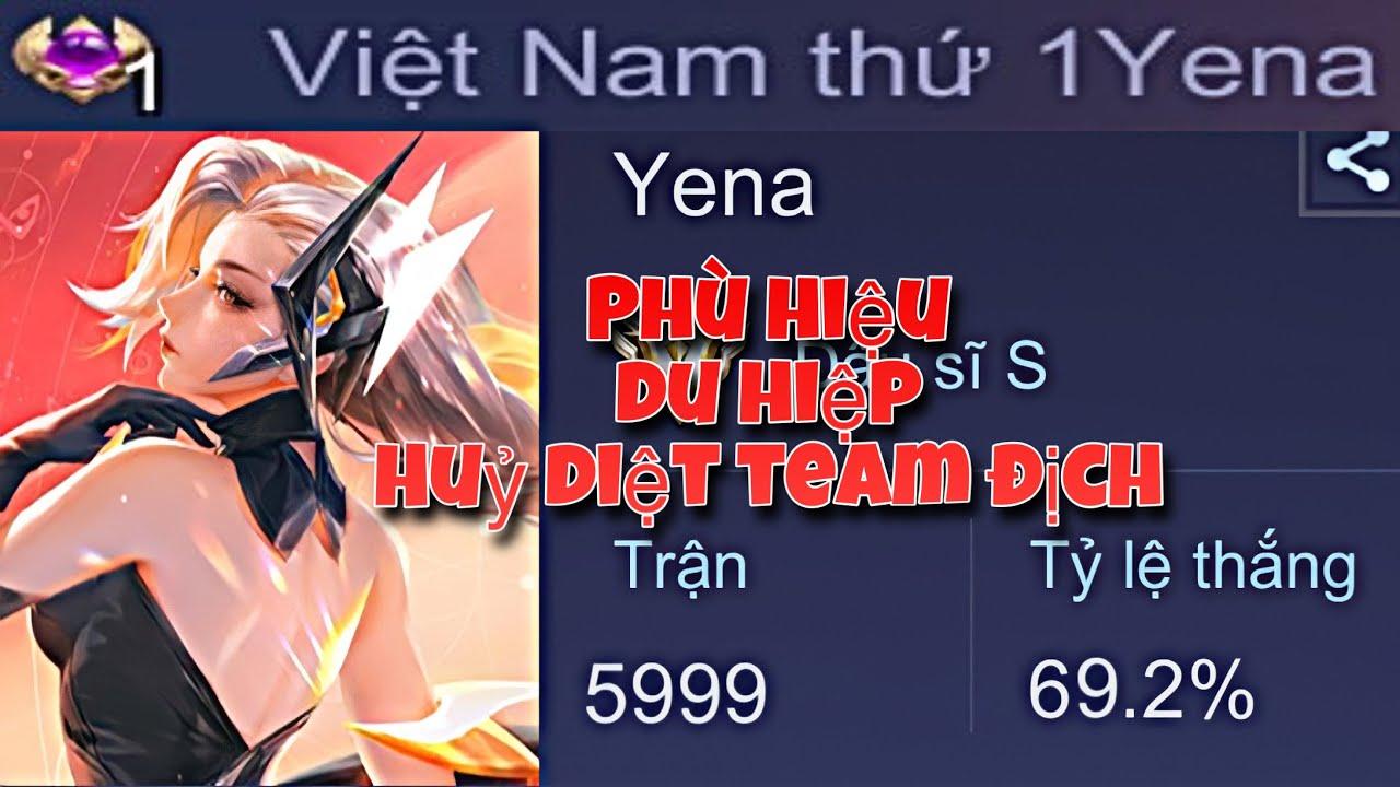 [TOP.1 YENA] Phù hiệu du hiệp combo khiến team địch chạy không nổi| Liên Quân Mobile